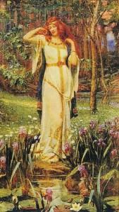 Freya with Brisingamen / J. Penrose, 1890 / Public Domain via Wikimedia Commons